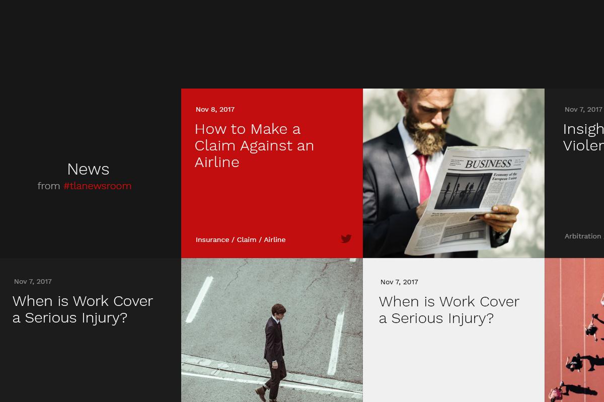 legal Web designs concept