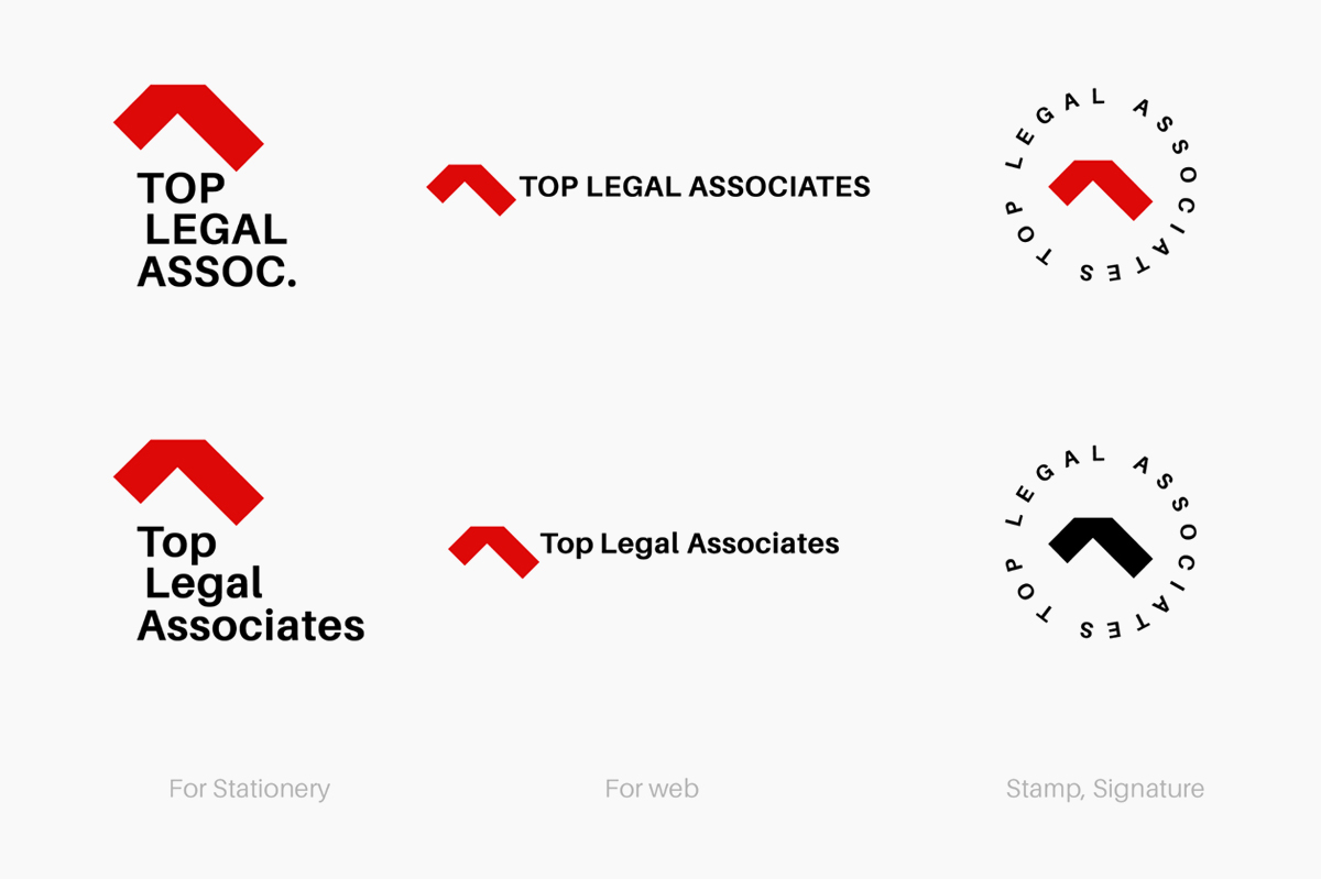 legal logo designs concept