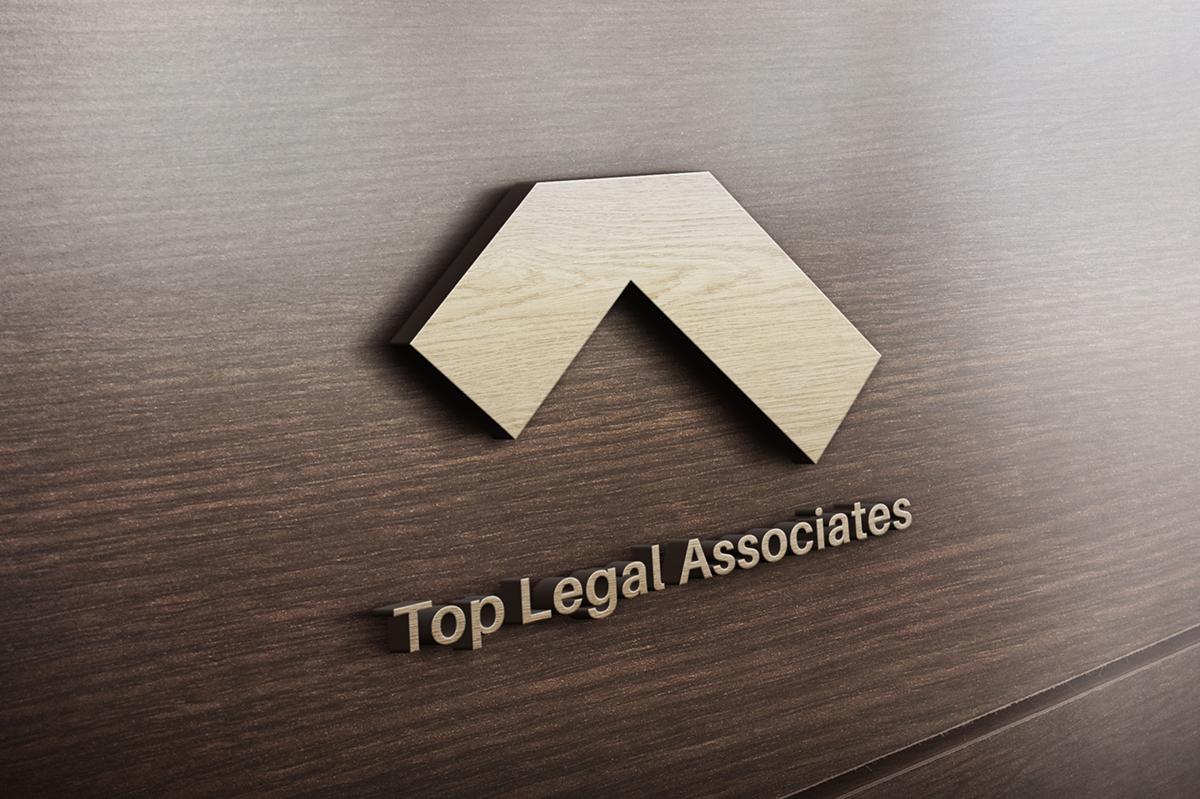 legal logo designs concept