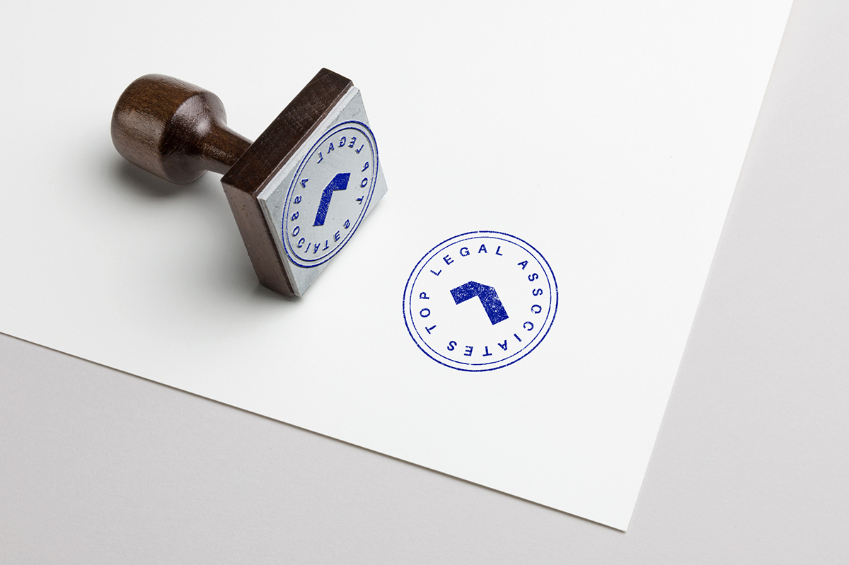 legal stamp concept