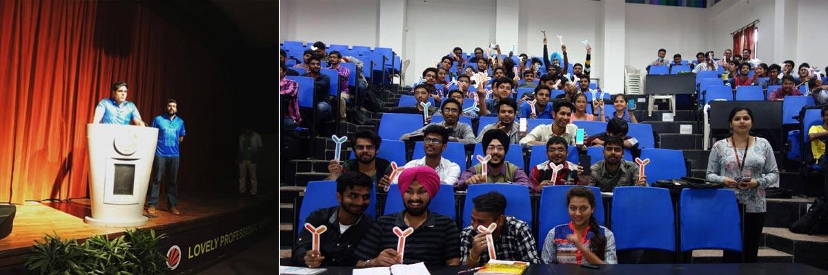 y-hlth lovely college Jalandhar webinar