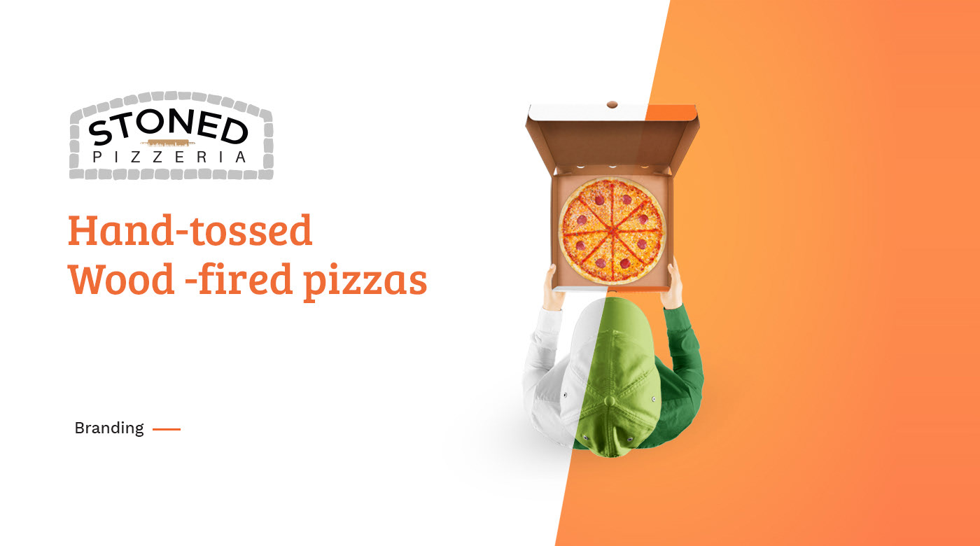 stoned pizza packaging designs