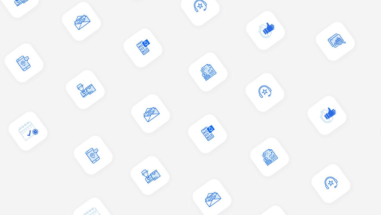 miles icons designs