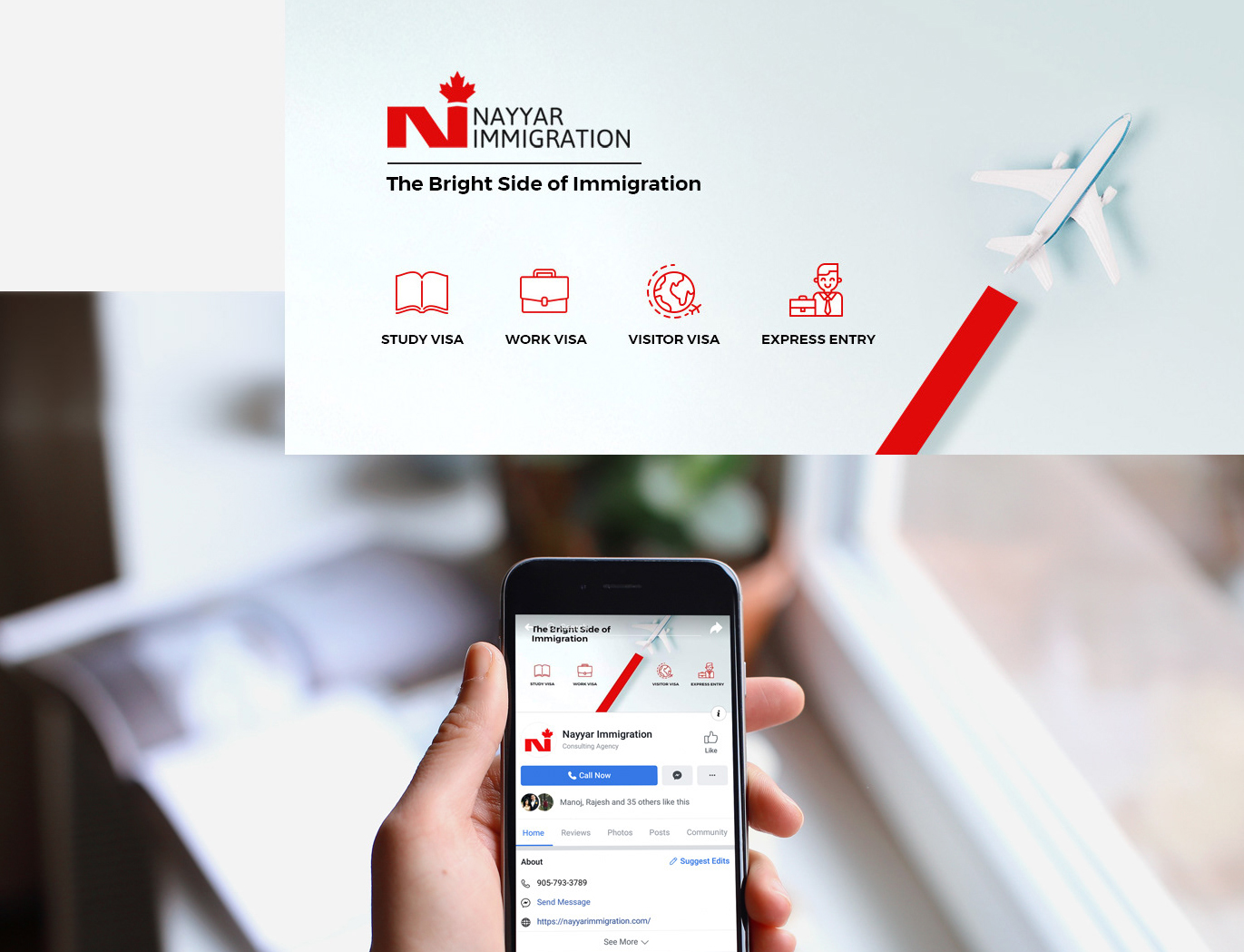nayyar immigration social media designs