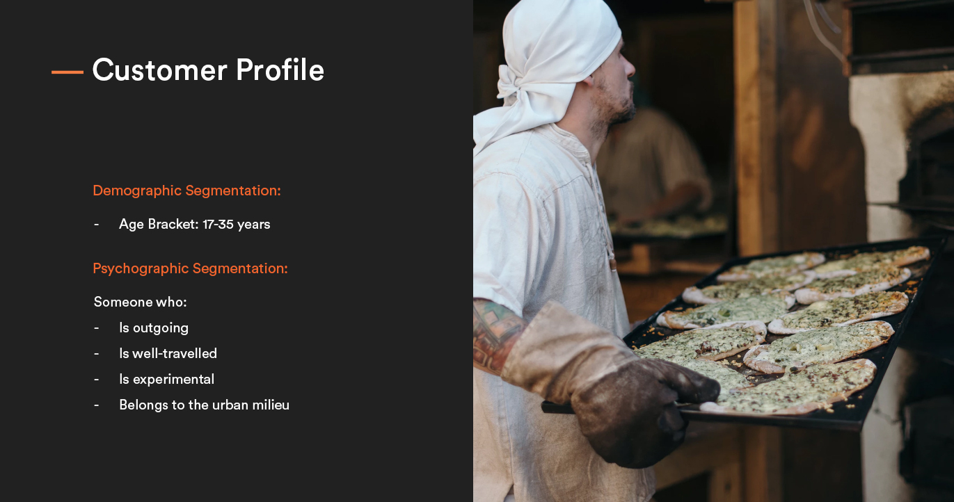 stoned pizza customer profile